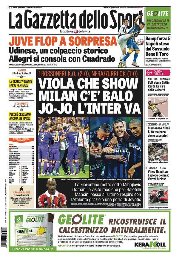 Gazzetta 24-08-2015