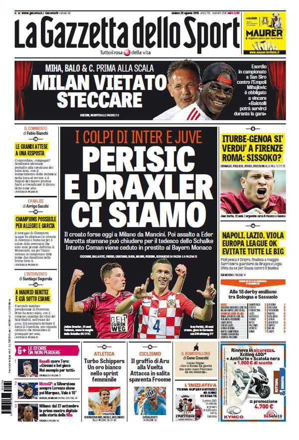 Gazzetta 29-08-2015