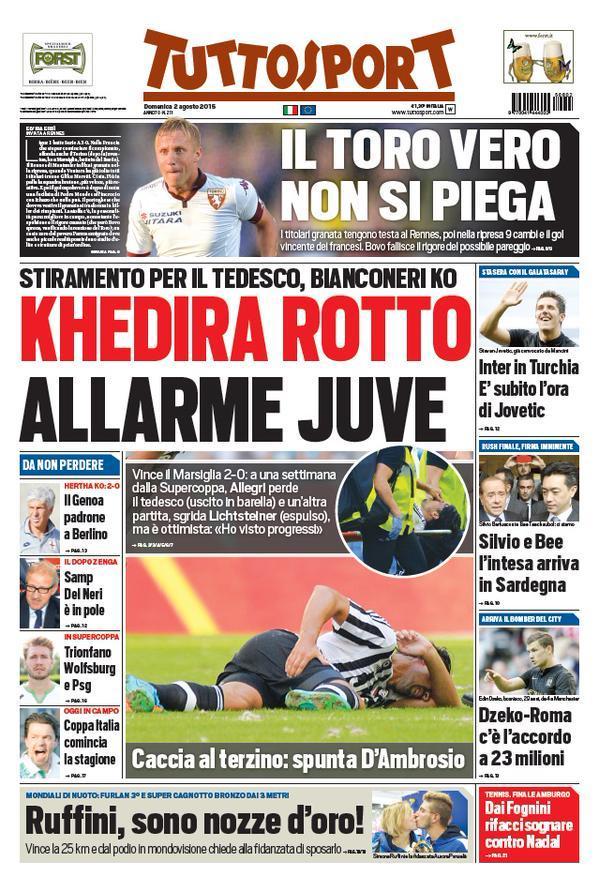 Tuttosport 02-08-2015