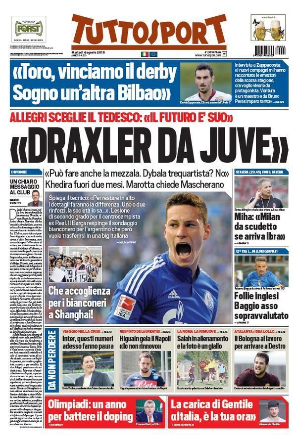 Tuttosport 04-08-2015