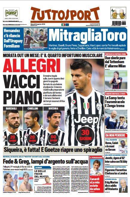 Tuttosport 06-08-2015