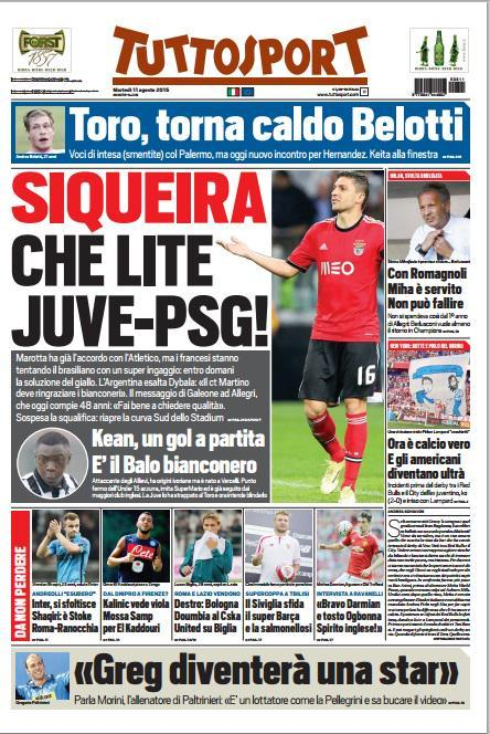 Tuttosport 11-08-2015