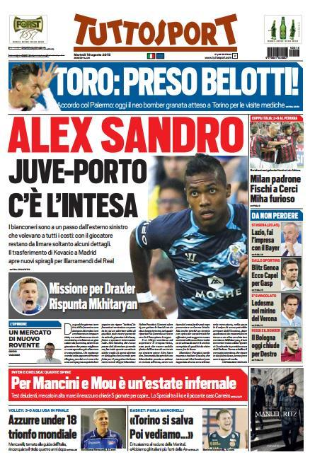 Tuttosport 18-08-2015