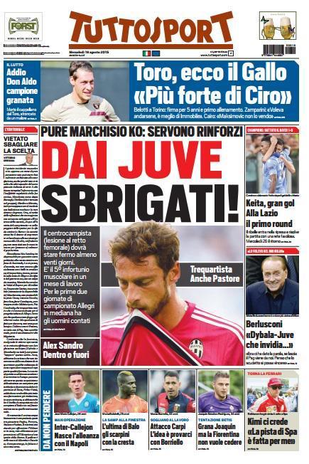 Tuttosport 19-08-2015
