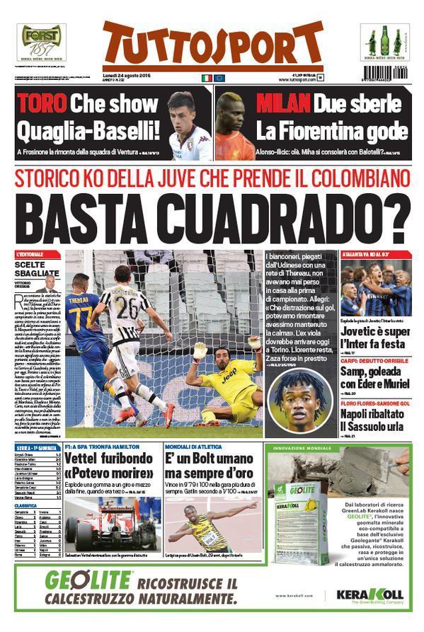 Tuttosport 24-08-2015