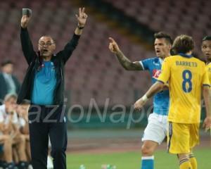 Sarri Napoli Sampdoria maggio barreto