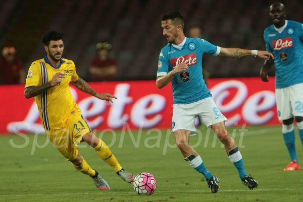 Valdifiori Soriano Napoli Sampdoria