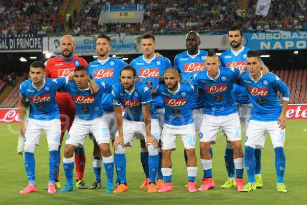 Napoli Sampdoria squadra