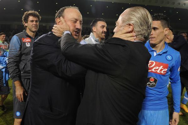 <i> C'eravamo tanto amati...</i> De Laurentiis dimentica Benitez: