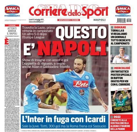 Edizione Campana Corriere dello Sport