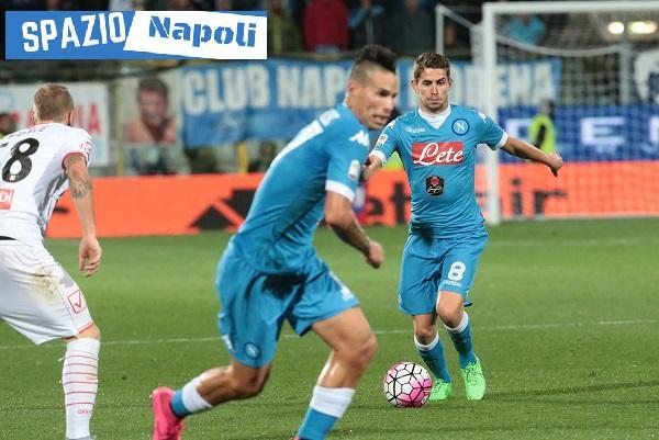Hamsik Jorginho Napoli Carpi