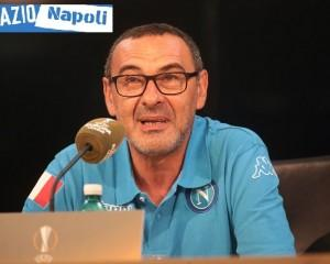 Sarri conferenza EuropaLeague