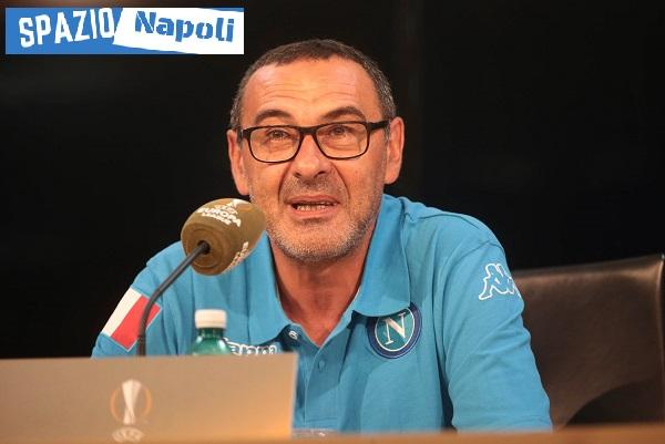Sarri conferenza EuropaLeague