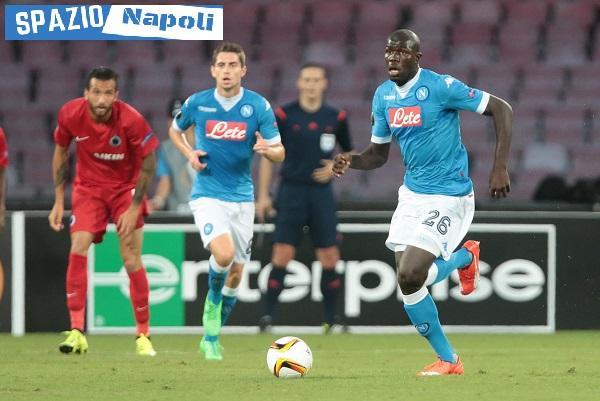 Koulibaly Napoli Europa Brugge jorginho
