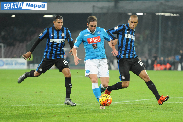 Napoli Inter Higuain Miranda Murillo