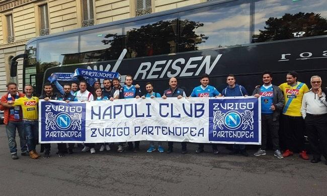 I ragazzi del Napoli Club Zurigo Partenopea