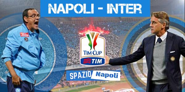 Copertina Napoli-Inter Coppa Italia 2015-2016