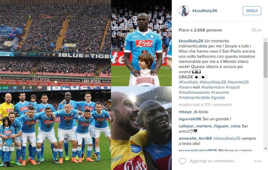 koulibaly instagram