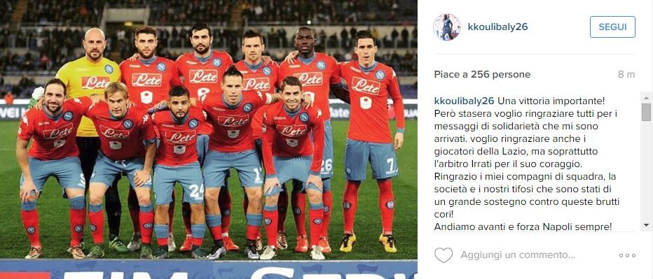 koulibaly post