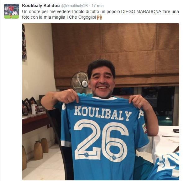 tweet koulibaly