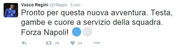 tweet regini