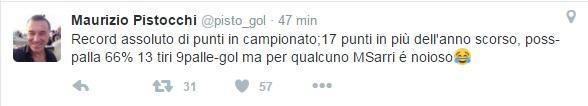 tweet pistocchi