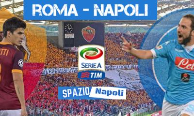 Copertina Roma-Napoli 2015-2016