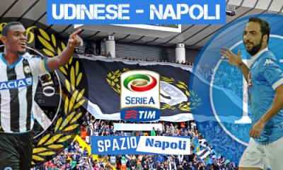 Copertina Udinese-Napoli 2015-2016