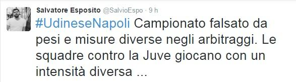 tweet salvatore esposito