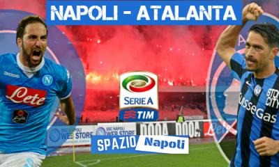 Copertina Napoli-Atalanta 2015-2016