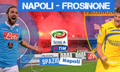 Copertina Napoli-Frosinone 2015-2016