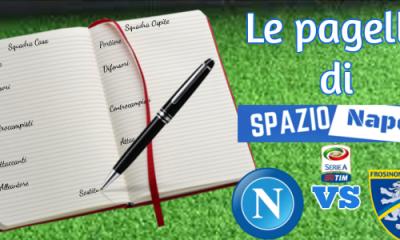 Pagelle Napoli-Frosinone 2015-2016