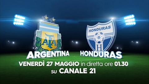argentina - honduras canale 21