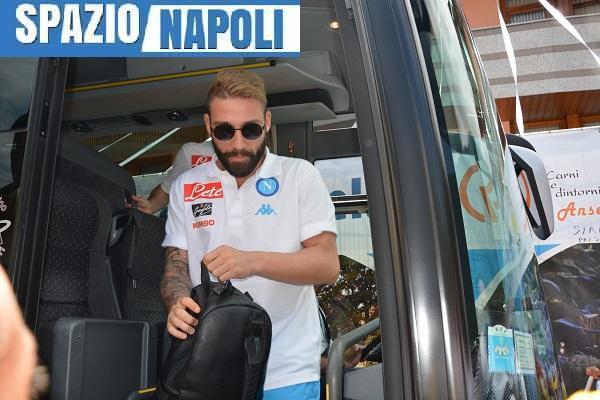 L'ultimo arrivato, Lorenzo Tonelli, all'approdo a Dimaro