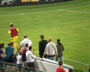 È accaduto anche ieri sera allo stadio di Trento