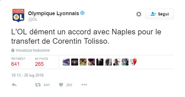 lione tolisso tweet