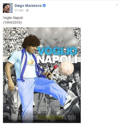 maradona facebook