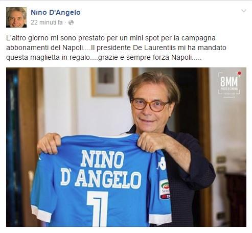 nino d'angelo facebook