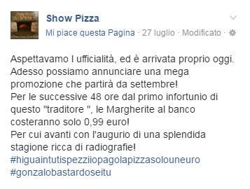 pizzeria higuain facebook