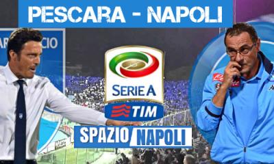 Copertina Pescara-Napoli 2016-2017