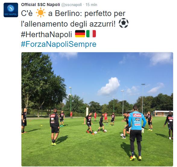 Napoli-Hertha