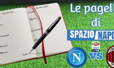 Pagelle Napoli-Milan 2016-2017