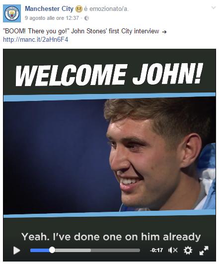 L'intervista all'ultimo arrivato in casa City, John Stones