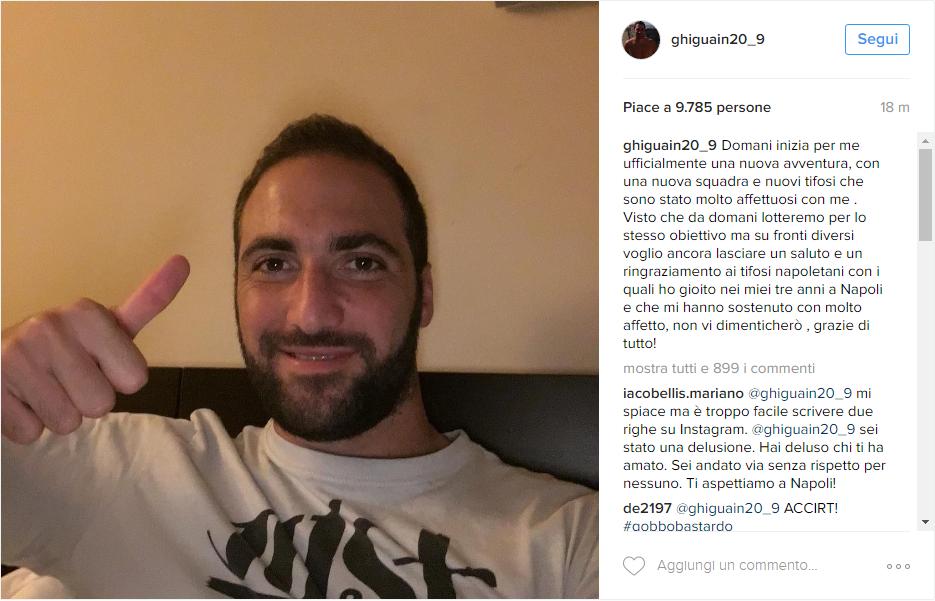 higuain instagram