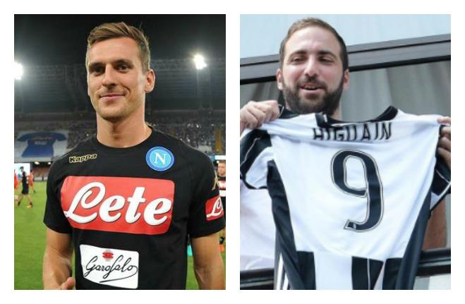 milik higuain collage