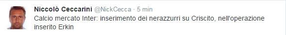 tweet ceccarini