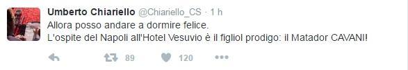 tweet chiariello
