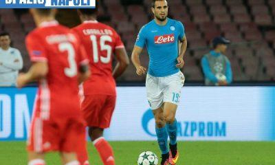 ITALY; Naples : Napoli's player Maksimovic during the UEFA Champions League match between SSC Napoli and SL Benfica at the San Paolo Stadium in Naples on September 28; 2016. PH. CONTROLUCE/ PIETRO MOSCA