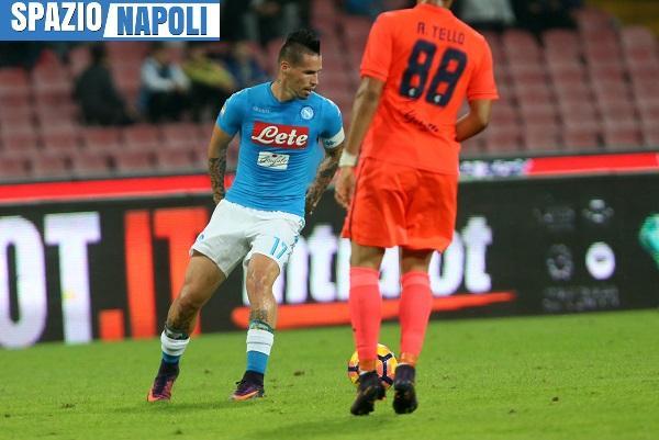Napoli, Hamsik vede il record di goal di Maradona: