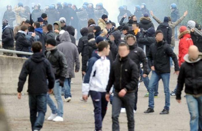 Lazio, il Questore firma 13 Daspo per gli adesivi antisemiti trovati all'Olimpico